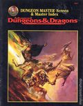 Advanced Dungeons and Dragons Dungeon Master Screen and Master Index (1995 TSR) Gaming Module 0-1ST