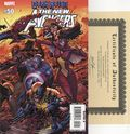 New Avengers (2005 1st Series) 50A.DF.SIGNED