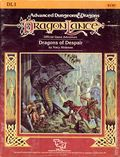Advanced Dungeons and Dragons Dragons of Despair (1984 TSR) Gaming Module DL1