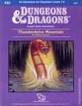 Dungeons and Dragons Thunderdelve Mountain (1985 TSR) Gaming Module XS2