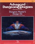 Advanced Dungeons and Dragons Dungeon Master's Design Kit (1988 TSR) Gaming Module 0