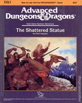 Advanced Dungeons and Dragons Shattered Statue (1988 TSR) Gaming Module DQ1