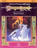 Advanced Dungeons and Dragons Mists of Krynn (1988 TSR) Gaming Module DL15
