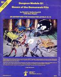 Advanced Dungeons and Dragons Queen of the Demonweb Pits (1980 TSR) Gaming Module Q1
