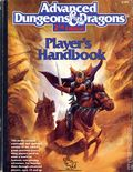Advanced Dungeons and Dragons Player's Handbook HC (1989 TSR) 2nd Edition 1A-1ST