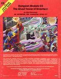 Advanced Dungeons and Dragons Ghost Tower of Inverness (1980 TSR) Gaming Module C2
