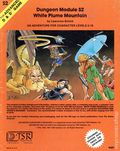 Advanced Dungeons and Dragons White Plume Mountain (1979-1981 TSR) Gaming Module S2-2ND