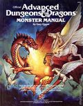 Advanced Dungeons and Dragons Monster Manual HC (1977 TSR) Gaming Module 0B-REP
