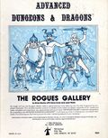 Advanced Dungeons and Dragons Rogues Gallery (1980 TSR) Gaming Module 0
