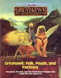 Advanced Dungeons and Dragons Greyhawk: Folk, Feuds, and Factions (1989 TSR) Gaming Module 0