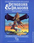 Dungeons and Dragons Expert Rulebook (1983 TSR) Gaming Module 0