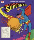 Superman Color by Number (1966 Whitman) 1653
