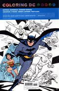 Coloring DC Justice League SC (2017 DC) Adult Coloring Book 1-1ST