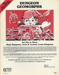 Dungeons & Dragons Dungeon Geomorphs (1981 TSR) 9048