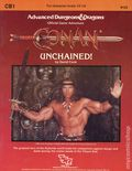 Advanced Dungeons and Dragons Conan Unchained! (1984 TSR) Game Module CB1