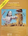 Dungeons and Dragons Castle Amber (Chateau D' Amberville) (1981 TSR) Game Module X2-1ST