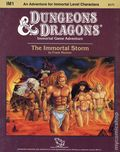 Dungeons and Dragons The Immortal Storm (1986 TSR) Game Module IM1