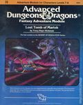 Advanced Dungeons and Dragons Lost Tomb of Martek (1983 TSR) Game Module I5