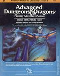 Advanced Dungeons and Dragons Oasis of the White Palm (1983 TSR) Game Module I4