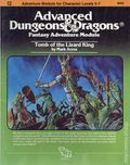 Advanced Dungeons and Dragons Tomb of the Lizard King (1982 TSR) Game Module I2