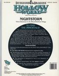 Dungeons and Dragons Hollow World Nightstorm (1991 TSR) Game Module HWA3