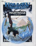Dungeons and Dragons Hollow World Nightrage (1990 TSR) Game Module HWA2