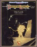 Advanced Dungeons and Dragons DragonLance Oak Lords (1991 TSR) Game Module DLS3