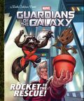 Guardians of the Galaxy Rocket to the Rescue HC (2017 Random House) A Little Golden Book 1-REP