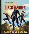 Black Panther Warriors of Wakanda HC (2018 Random House) A Little Golden Book 1-REP