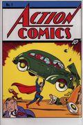 Action Comics Silver Foil Replica Cover (2018 DC) New Zealand Mint 1