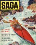 Saga Magazine (1950 2nd Series) Vol. 6 #5