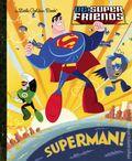 DC Super Friends: Superman HC (2013 Random House) A Little Golden Book 1-REP