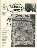 Abandon Comics (1996 Mansion) Fanzine 1