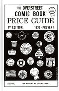 Official Overstreet Comic Book Price Guide #1 HC (2020 Gemstone) Facsimile Edition 1-1STWHITESGN