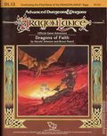 Advanced Dungeons and Dragons DragonLance Dragons of Faith (1986 TSR) Roleplaying Game Module DL12