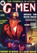 G-Men Replica (2015 Adventure House) Nov 1935