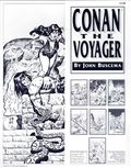 Conan the Voyager Portfolio by John Buscema (1992 SQ Productions) SET-1