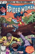 Spider-Woman (1978-1983 1st Series) UK Edition 24UK