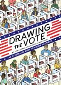 Drawing the Vote HC (2020 Abrams ComicArts) An Illustrated Guide to Voting in America 1-1ST