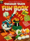 Dell Giant Donald Duck Fun Book (1953-1954 Dell) 2