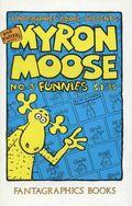 Myron Moose Funnies (1987 Fantagraphics) 3
