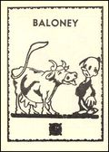 Bulco Mini Comic: Baloney (1945) 1