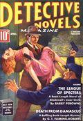 Detective Novels Magazine Pulp Replica (2013 Adventure House) Apr 1938