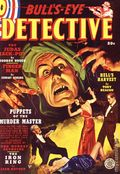 Bull's-Eye Detective Pulp Replica (2012 Adventure House) FALL 1938