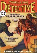 Thrilling Detective Pulp Replica (2009 Adventure House) Dec 1931
