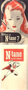Superman What is N-Tane New-Day Gasoline? 1940