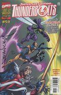 Thunderbolts (1997 Marvel) 50DF.SIGNED