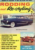 Rodding and Re-Styling (1955-1966 Universal Publishing) Hot Rod Magazine Vol. 3 #6