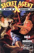 Secret Agent X: Halo of Horror SC (2008 Altus Press) 1ST