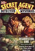 Secret Agent X: Resurrection Ring SC (2014 Altus Press) 1ST